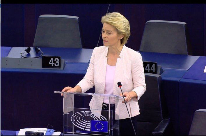 Von der Leyen, primera mujer en presidir la Comisión Europea