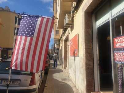 Las elecciones para elegir al candidato demócrata de EEUU llegan a Mallorca