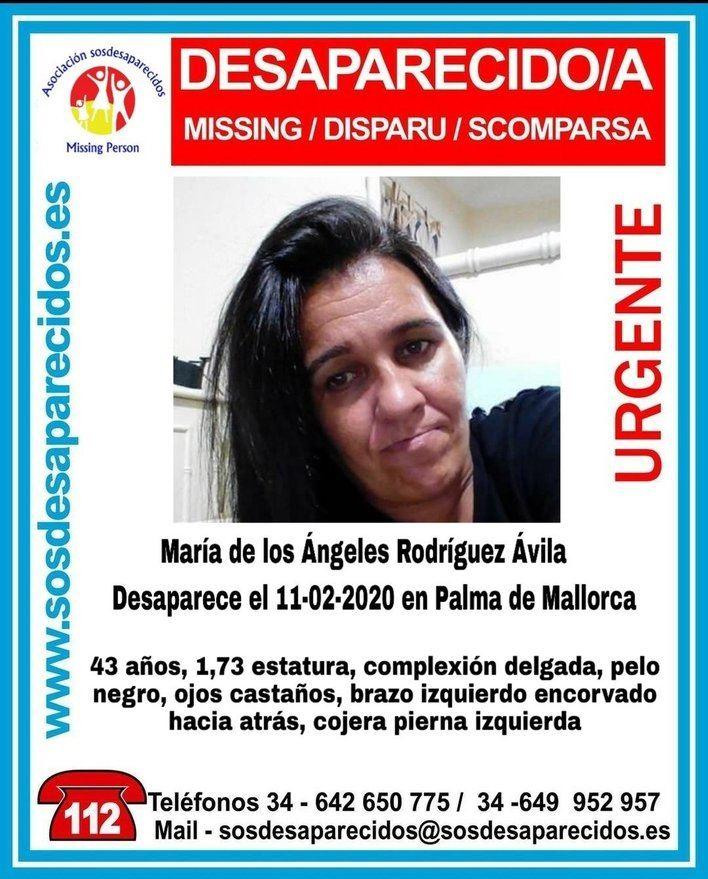 Buscan a una mujer de 43 años desaparecida en Palma
