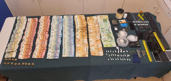 Desarticulado un grupo que distribuía cocaína en zonas de ocio de la Bahía de Alcúdia