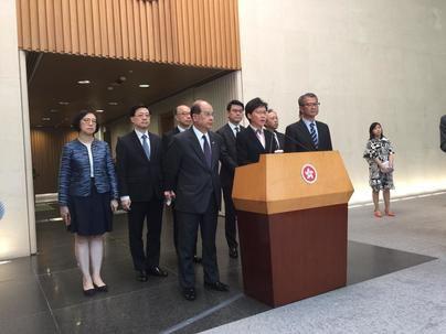 La jefa ejecutiva de Hong Kong condena la violencia de las protestas