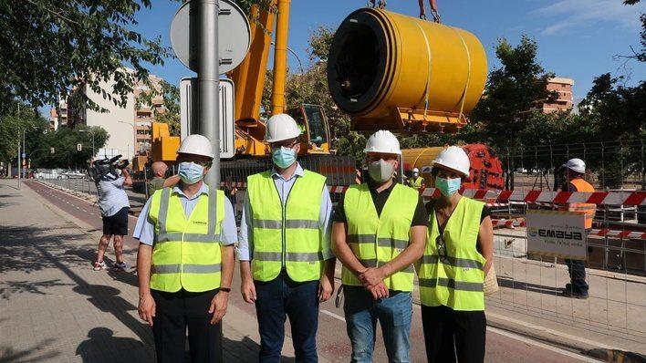Avanzan las obras del nuevo colector de Palma para reducir los vertidos fecales