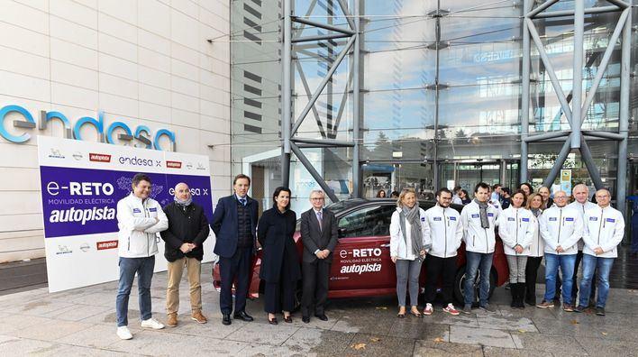 Endesa completa el e-Reto: Recorrer en coche eléctrico todas las provincias de la península en menos de 7 días