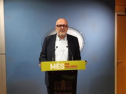 Ensenyat defiende que 'a Més per Mallorca le venía bien una comisión de investigación'