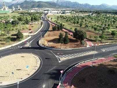 Abierto el nuevo acceso a Lloseta desde la autopista de Inca