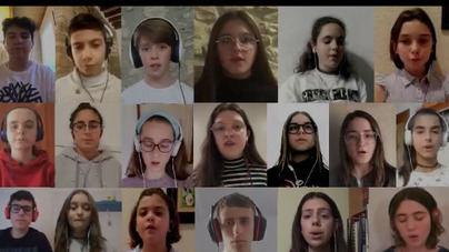 La Escolania de Lluc interpreta una pieza virtual y solidaria para todas las familias