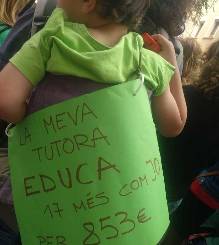 Los trabajadores de las escoletas infantiles van a la huelga por