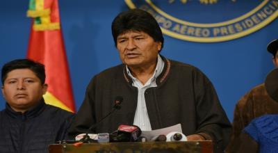 Evo Morales dimite como presidente de Bolivia