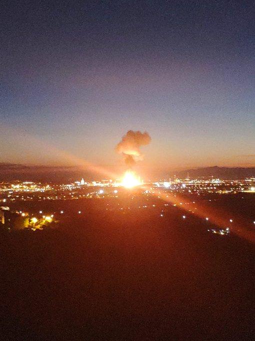 Un muerto tras una fuerte explosión en una planta química en Tarragona