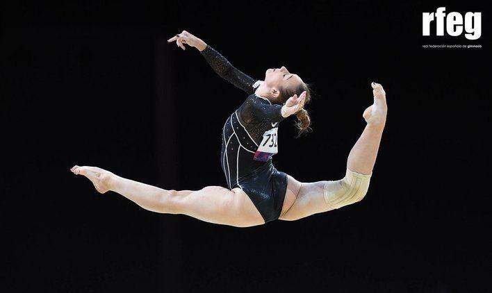 La gimnasta mallorquina Cintia Rodríguez