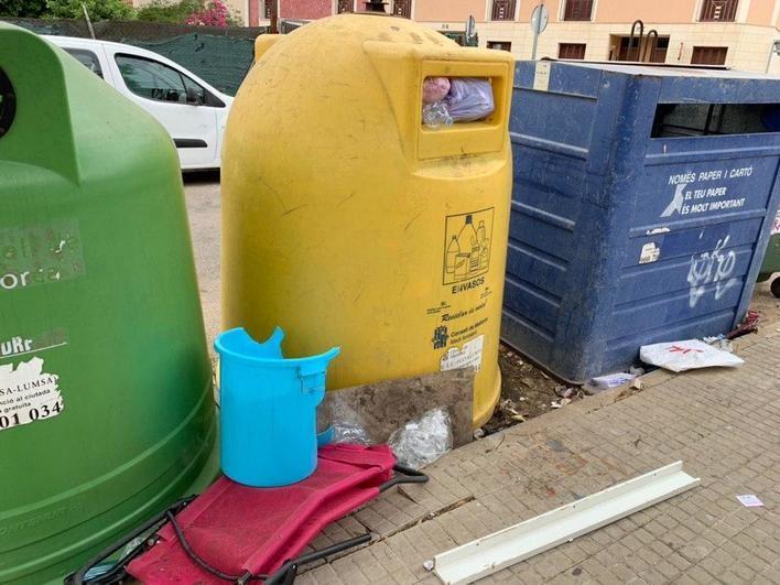 Cs de Marratxí reclama refuerzos en el servicio de recogida selectiva de residuos