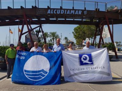 Alcudiamar, 23 años de bandera Azul y 19 de 'Q' de calidad turística