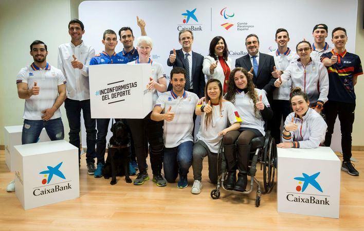 CaixaBank es el nuevo patrocinador del Comité Paralímpico Español