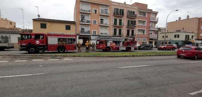 Sofocado un incendio en la cocina de una vivienda en Palma