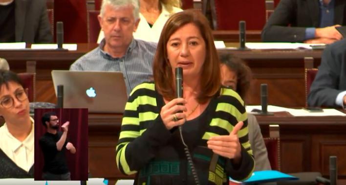 Armengol: 'En Madrid nadie nos entiende cómo somos'