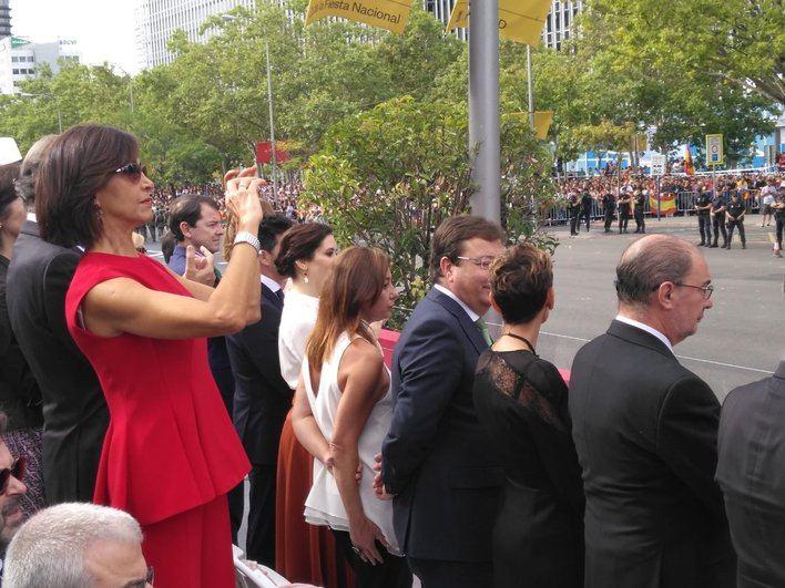 Armengol acude a los actos conmemorativos del 12 de Octubre en Madrid