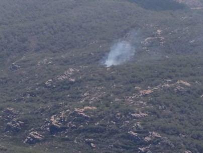 Extinguido el incendio forestal en la zona de La Vall de Ciutadella en Menorca