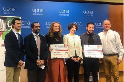 Una estudiante de la UIB gana el concurso de monólogos en inglés del G-9 de universidades