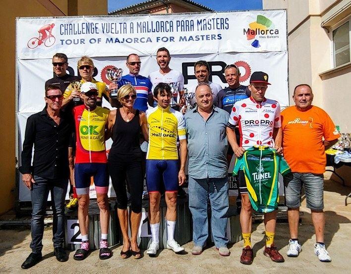 Boyman gana la contrareloj y revalida título del más rápido de la Challenge Vuelta Mallorca