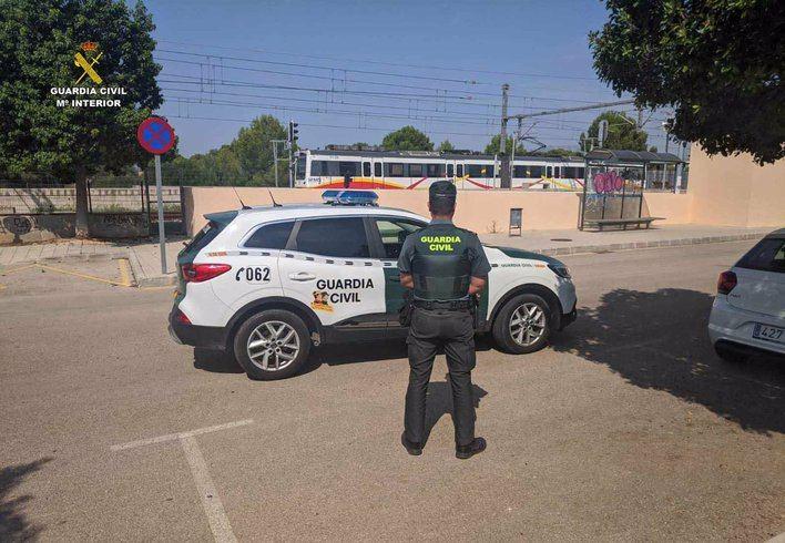 Investigan a un joven por agredir a un vigilante de la estación de tren de Es Figueral