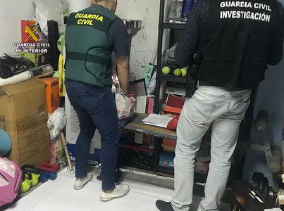 30 detenidos tras desarticular una organización criminal dedicada a la elaboración y distribución de drogas