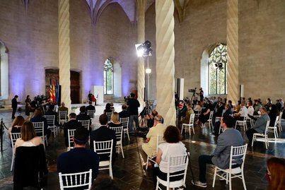 Emotivo homenaje a las víctimas del Covid-19 en Baleares
