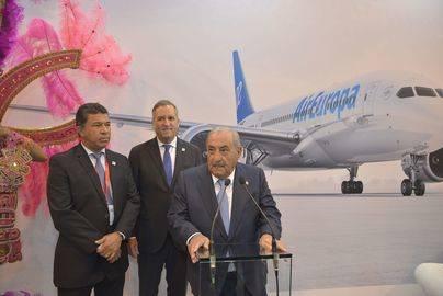 Air Europa inaugura conexión con Honduras