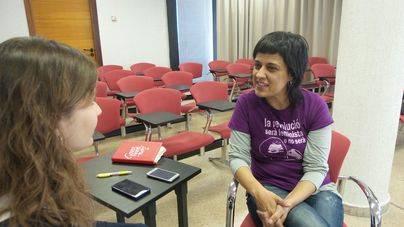Anna Gabriel (CUP) pide a Armengol que apoye el 'procés'