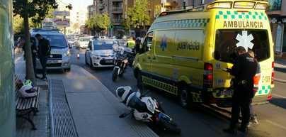 Un conductor borracho provoca un accidente en Palma