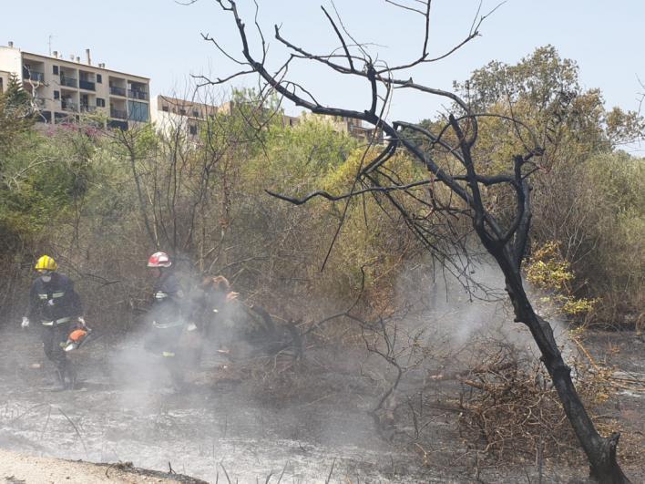 Incendio en Sa Cabaneta