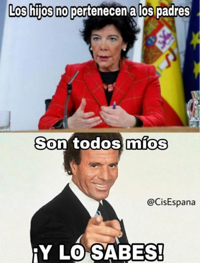 Humor en la Red: Julio Iglesias y su maxi Pin Parental