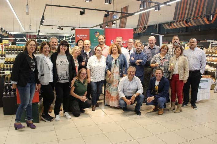 Eroski supera el millón de euros en las ventas de 2018 de los vinos con DO Pla i Llevant