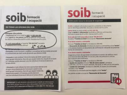 El SOIB oculta que llamar al 012 es de pago