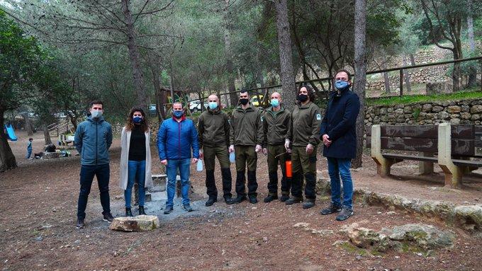 Despliegan a 70 personas para que informen de las medidas contra el Covid en áreas naturales