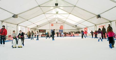 Guerra de pistas de hielo en Palma