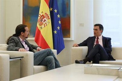 Iglesias, tras su reunión con Sánchez, no desvela si habrá gobierno de coalición