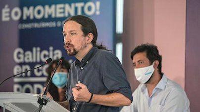 Batacazo de Podemos: se hunde en Galicia y Euskadi