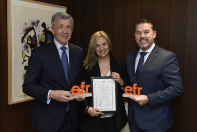 Caixabank renueva el certificado 'Empresa Familiarmente Responsable' de Más Familia