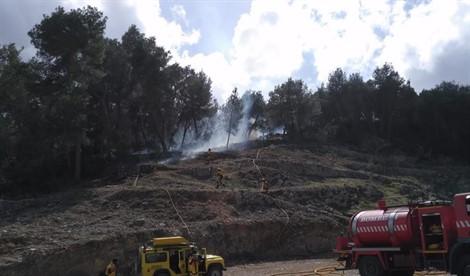 Controlado el incendio de Sant Antoni que ha afectado 0,9 hectáreas de pinar