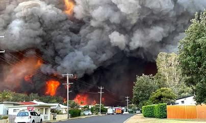 Alarma en Australia por la oleada de incendios