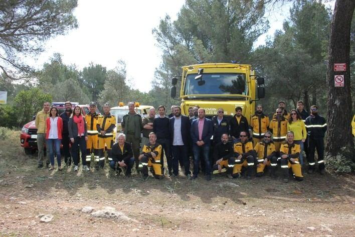 La escasez de lluvias alerta sobre un año de alto riesgo de incendios forestales en Baleares