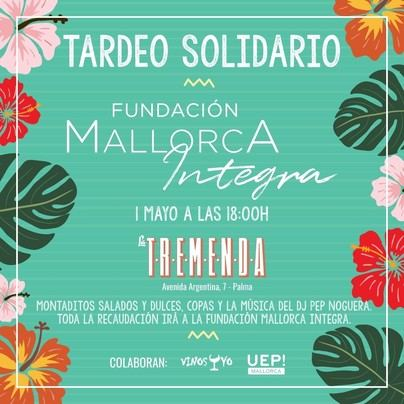 La Fundación Mallorca Integra y el bar 'La Tremenda' organizan un tardeo solidario