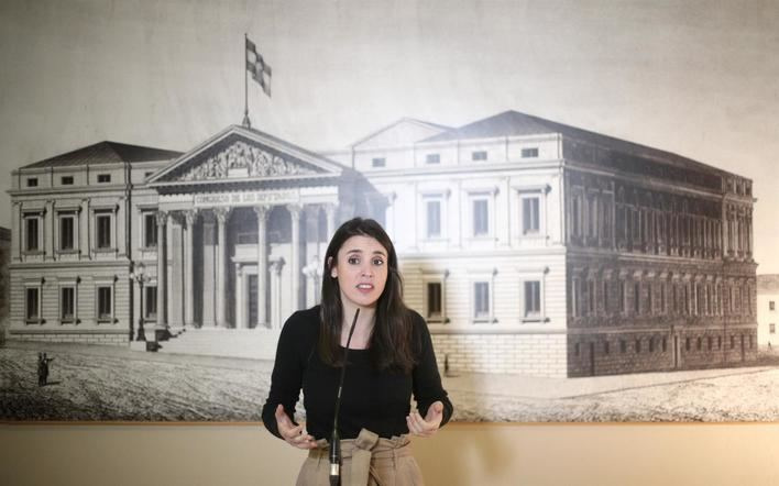Irene Montero pide un gobierno central como el de Baleares
