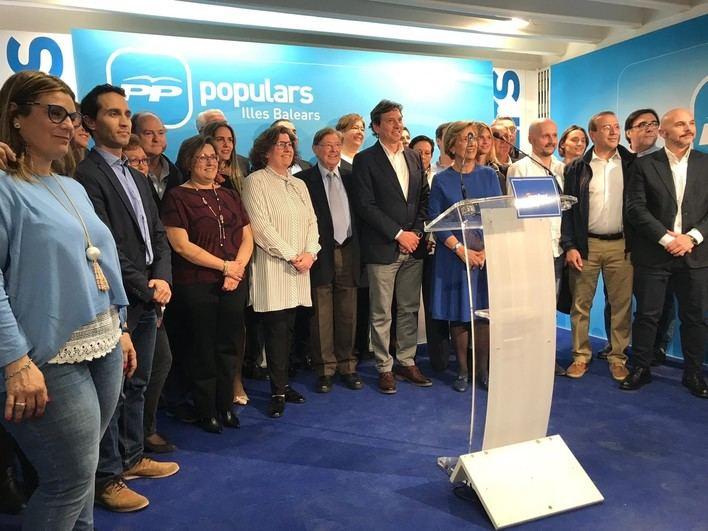 Isern presenta la candidatura del PP a Cort que tiene un claro