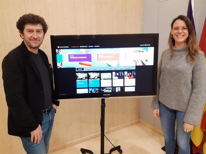 Cort crea una plataforma digital con talleres y cursos de casales de barrio