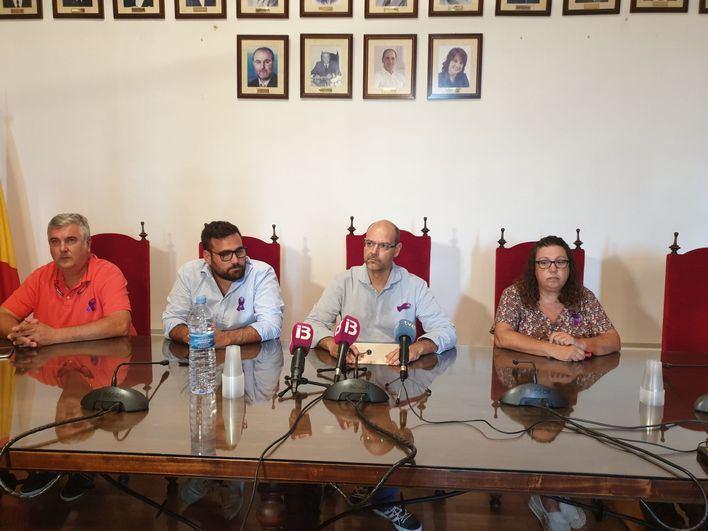 Los socialistas exigen a Company que expulse al dirigente del PP de ses Salines condenado por violencia