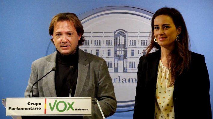 Jorge Campos e Idoia Ribas de Vox, dan negativo en las pruebas de coronavirus