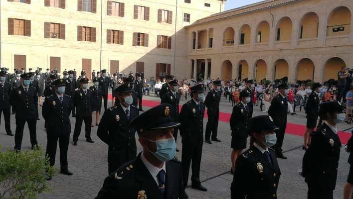 59 nuevos policías nacionales juran el cargo en Palma