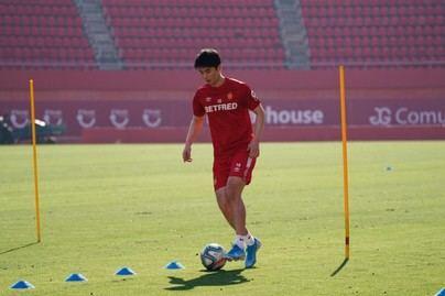 Ki se enfunda la camiseta del Mallorca: