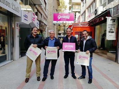 La zona comercial de Los Geranios de Palma estrena nueva imagen